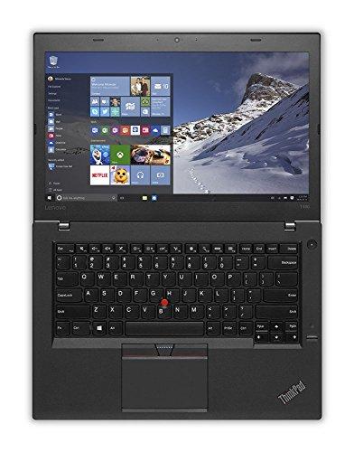 Lenovo ThinkPad T460 Business Ultrabook (14' HD Display, i5-6200U 2.3GHz, 8GB RAM, 500GB HDD, FingerPrint Reader, Backlit Keyboard, Window 7 Pro 64 Upgradeable to Win 10 Pro)