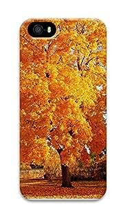 iPhone 5 5S Case Golden Maple 3D Custom iPhone 5 5S Case Cover