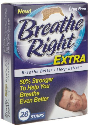 Breathe Right Nasal Strips, Extra, 104 Strips by Breathe Right