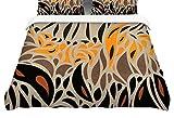 KESS InHouse Viviana Gonzalez''Africa-Abstract Pattern I'' Featherweight Queen Duvet Cover, 88 x 88''