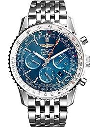 Navitimer 01 Blue Dial 46mm Men's Watch AB012721/C889-453A