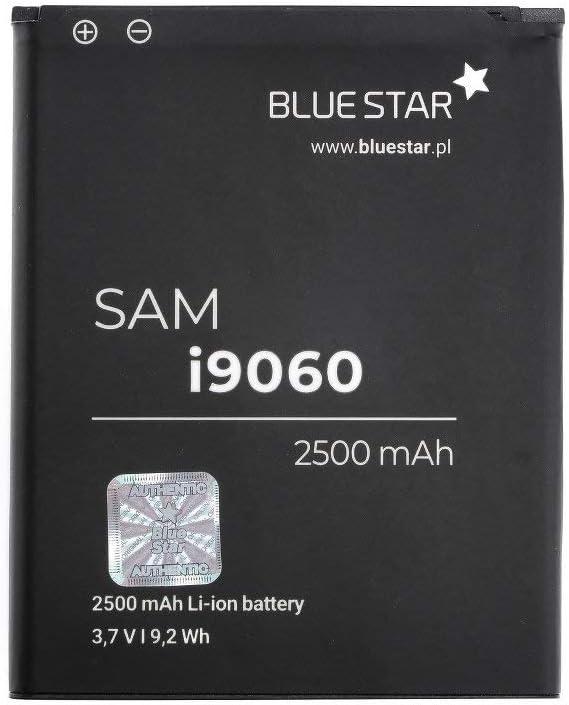 Blue Star Premium - Batería de Li-Ion litio 2500 mAh de Capacidad Carga Rapida 2.0 Compatible con el i9082 galaxy grand/i9060 galaxy grand neo 2500