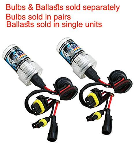 AbleVision HID Xenon Replacement Ballast & Bulbs Single Beam Bi-xenon H1 H3 H4 H7 H8 H9 H10 H11 H13 Hb3 9004 9005 9006 9007 880 Color: 4.3K 5K 6K 8K 10K (H4 (Hi/Lo), 8000K (Light Blue))