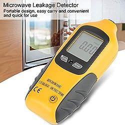 Microwave Leakage Detector, HT-M2 Digital LCD Display Microwave Leakage Detector High Precision Radiation Meter Tester
