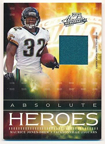 BIGBOYD SPORTS CARDS Maurice Jones-Drew 2007 Absolute Heroes Jaguars RELIC Jersey SP #084/200 -