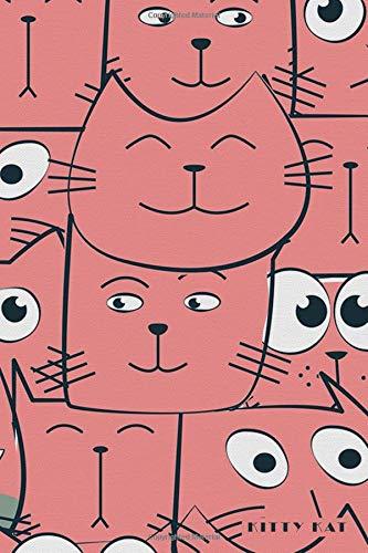 Kitty Kat: Love Cute Kittens Cats Notebook Journal Diary for Men, Women, Teen & Kids