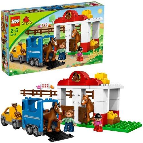 LEGO - 5648 - Jeu de Construction - DUPLO LEGOVille - Les Ecuries