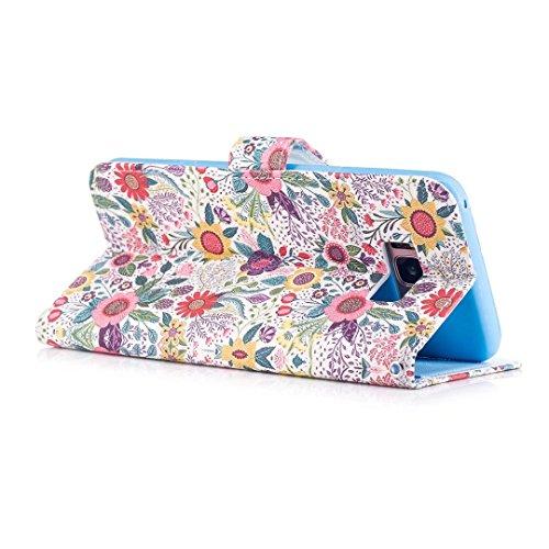 COWX Samsung Galaxy S8 Plus Hülle Kunstleder Tasche Flip im Bookstyle Klapphülle mit Weiche Silikon Handyhalter PU Lederhülle für Samsung Galaxy S8 Plus Tasche Brieftasche Schutzhülle 4eO0IcIb