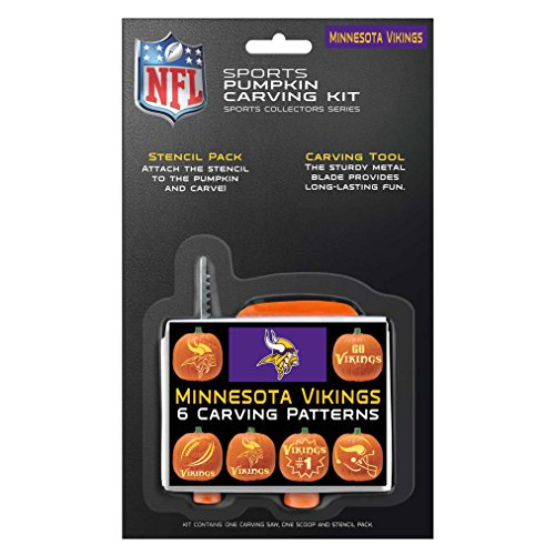 NFL Minnesota Vikings Pumpkin Carving Kit -