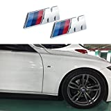 all accesories - JD PARTS LLC M Tri Color Fender Side Emblems LOGO Decal BADGE Sticker For All BMW