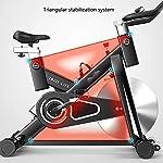 GOHHK-Cyclette-Indoor-Spin-Bike-Studio-Cicli-Cyclette-Allenamento-Cardio-Magnetico-Cyclette-Regolabile-Sedile-LED-Distanza-Tempo-Calorie-capacita-di-carico-Massima-150-kg