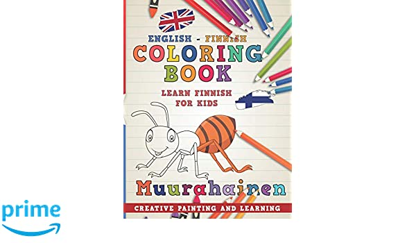 Coloring Book: English - Finnish I Learn Finnish for Kids I ...