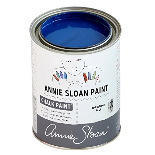 Chalk Paint (R) by Annie Sloan – Decorative Paint for Furniture, cabinets, Floors, Home Decor, and Accessories – Water-Based – Non-Toxic – Matte Finish (Quart - 32oz, Napoleonic Blue) by Annie Sloan (Image #7)