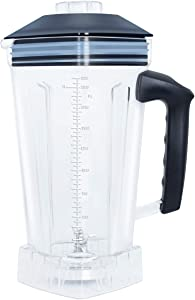 WantJoin Blender Cup for ice blenders,Spare pitcher for Mechanical blender and Digital display blender (Plastic)