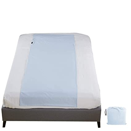 YOUTHUP Saco de Dormir y sábana de Acampada, Saco de Dormir Ligero para Viajes,