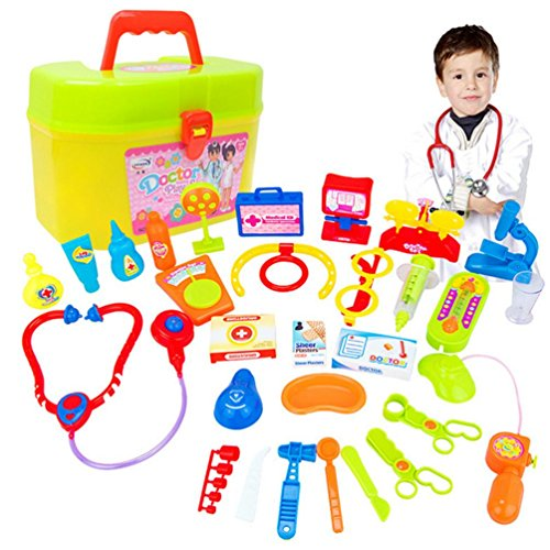 Movies That Start With The Letter X (Leegor 30pcs Childrens Kids Role Play Doctor Nurses Game Toys Set Hospital Simulation Utensils Medical Kit Christmas Gift Education Toy (white))