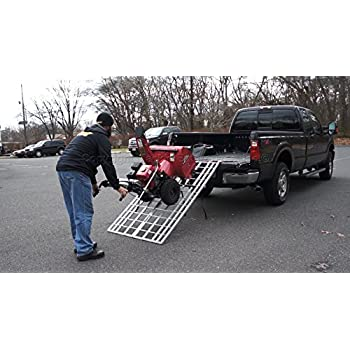 how to build a ramp for a snow blower