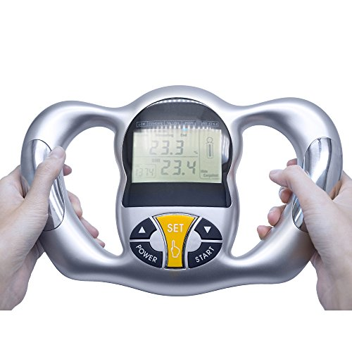 Carejoy Fat Analyzer, Portable Hand Held Health Monitor for BMI Index, Weight Loss by Carejoy