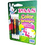 Paas Egg Color Snaps, Just Snap and Paint, Spring Green, Red, Blue, Yellow and Purple