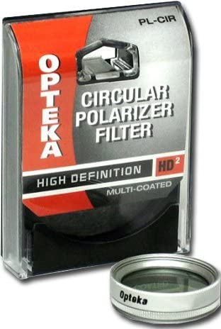 Opteka 34mm High Definition II Multi-Coated Circular Polarizing Glass Filter