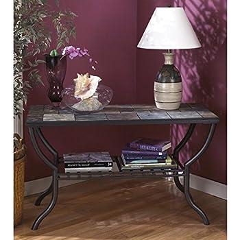 Amazoncom Ashley Furniture Signature Design Antigo Sofa Table