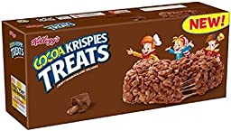 Kellogg\'s Cocoa Krispies Treats With M&M Minis 8 Ct (Pack of 2)