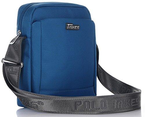 TAIKES Men's Shoulder Travel Messager Bag Crossbody Ipad Bag Daypack Purple-4