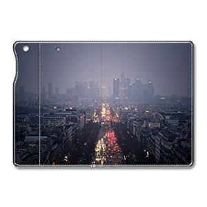 Brain114 iPad Mini Leather Case - Slim Flip Case Cover for iPad Mini La Defense Paris - Auto Wake Up/Sleep Function New