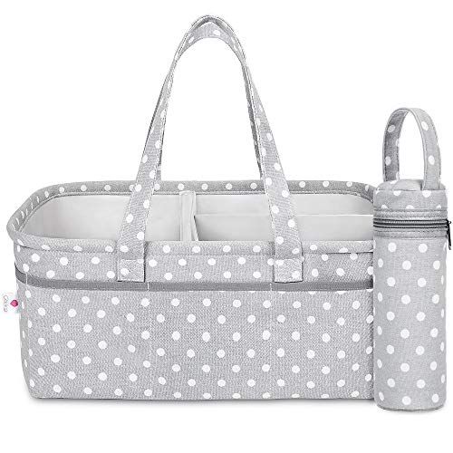 Baby Diaper Caddy Organizer | Baby Shower Registry Must Have