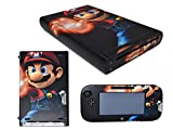 Wii U Deluxe Set 32GB Black Edition with Nintendo Land and Mario Vinyl Skin (Certified Refurbished)