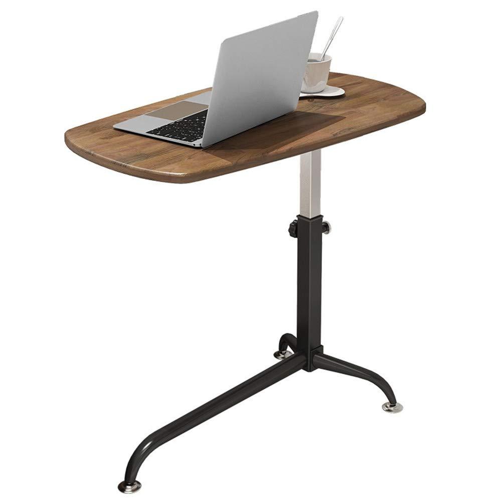 PEIQI HOME ベッドサイドテーブル 調節可能 ポータブル ノートブック デスク ソファ サイドテーブル 勉強 読書 朝食テーブル   B07KM4HKWX