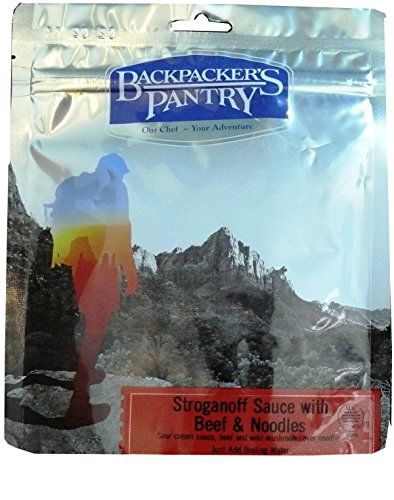 Pantry Backpackers Beef - Backpacker's Pantry Stroganoff with Beef & Wild Mushrooms, Four Serving Pouch