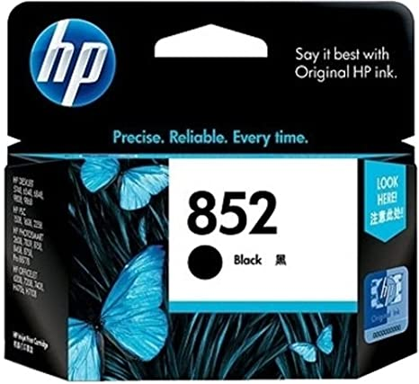 Hp C8765Zz 1N 852 Black Ink Cartridge Printer Cartridges