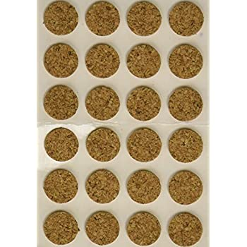 National Artcraft Cork Pads With Adhesive Back Keeps