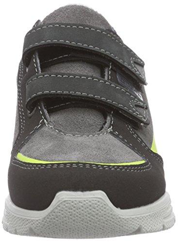 Ricosta Friis - zapatilla deportiva de piel niños gris - Grau (patina/pavone 159)