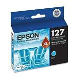 Epson 127 DURABrite Ultra Extra High-Capacity Ink Cartridge, Cyan (T127220)