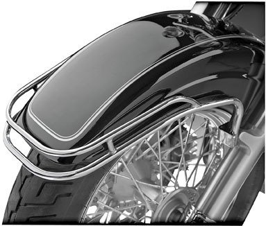 Show Chrome Front Fender Rail - Chrome ()