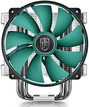 DEEPCOOL Lucifer V2 disipador CPU de Aluminio con 6 heatpipes de Cobre Ventilador PWM Silencioso, 140 mm, Pasta térmica, para Socket AMD AM3 AM4 FM2 y Intel 1155 1150 1151 1366: Amazon.es: Informática