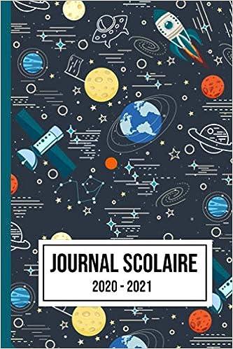Journal scolaire 2020 2021: Agenda académique hebdomadaire et