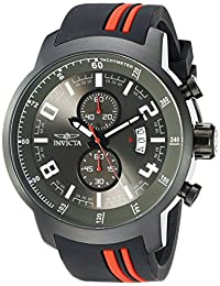 Invicta Men's 20218 S1 Rally Analog Display Quartz Black Watch