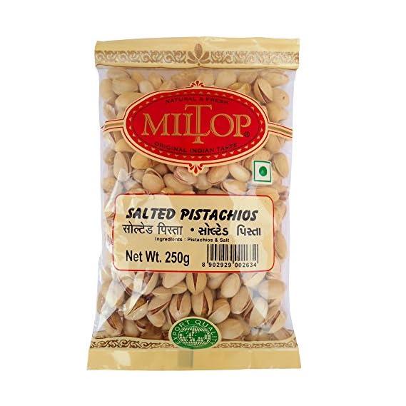Miltop Salted Pista, 250g