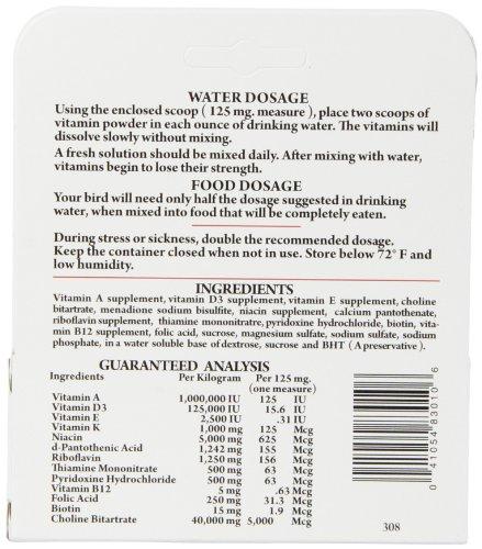 Lafeber's Avi-Era Powdered Bird Vitamin 1.25 oz