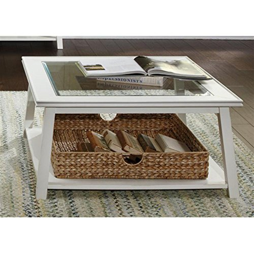 Liberty Furniture Industries Summerhill Square Linen Coffee Table