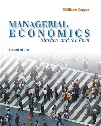 Managerial Economics: Markets and the Firm (Upper Level Economics Titles)