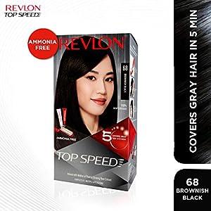 Revlon Top Speed Hair Color, Deep Mahogany Brown 50, 180 g