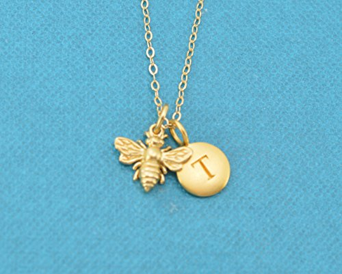 Gold Bumble Bee Charm - 5