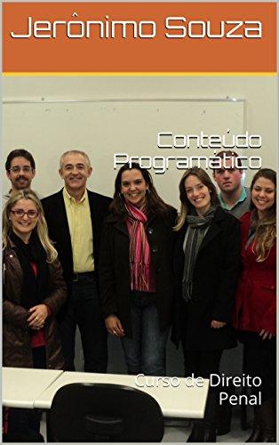 Conteúdo Programático: Curso de Direito Penal (Portuguese Edition)