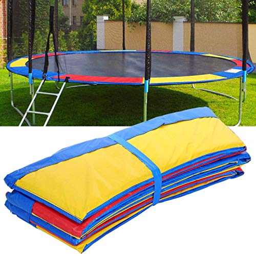 ANCHEER 15 14 12 10 Ft Replacement Trampoline Surround PVC Pad Foam Safety Spring Cover Padding Pads (Rainbow, 10ft) by ANCHEER (Image #6)