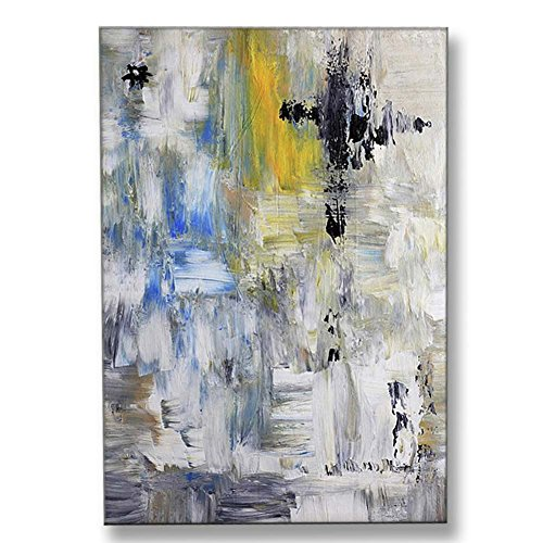 Hand Painted Canvas Paintings Abstract Unframed Tablet 26X36 inch (66X91 cm) for Living Room Bedroom Dining Room Wall Decor To DIY Frame Home Decoration by Neron Art by Neron Art