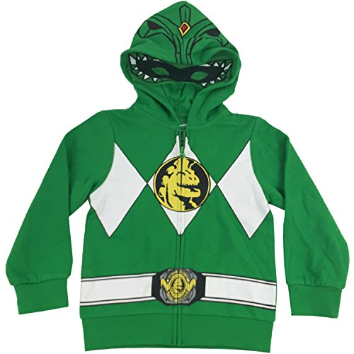Power Rangers Boys Costume Zip Hoodie